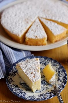 Torta Paradiso | Dolce tradizionale pavese | Pane e Gianduia Sweet Recipes, Cake Recipes, Muffins, Chiffon Cake, Biscotti, Flan, Nutella, Italian Recipes, Sweet Tooth