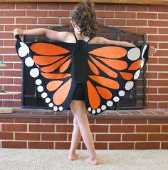 Schmetterling-Kostüm selber machen                                                                                                                                                      Mehr