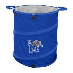Memphis Tigers Collapsible Trash Can (Doubles as Cooler and Laundry Hamper)
