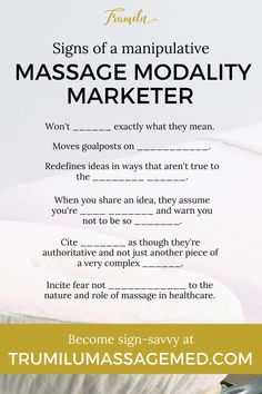 The body is complex, yes. But how a massage therapist enhance mobility is quite simple when you understand how muscles work. And while some details remain a mystery, how muscles work as relevant to medical massage therapist has a lot of scientific evidence. Marketing around massage therapy can make this confusing, leading massage therapists to think they MUST know certain modalities, routines or systems in order to bring about change. Not true as Dr. Truax explains. #trumilu #massage Massage Clinic, Medical Massage, Massage Tips, Good Massage, Massage Therapy Career, Massage Marketing, Massage Business, Getting A Massage, Anatomy And Physiology