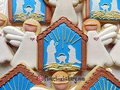 Day 5 of Cookie Videos: How to Decorate a Nativity Cookie