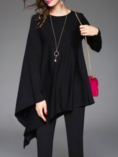 Tops for Women - Shop Long or Short Blouses & Shirts Casual Outfits, Cute Outfits, Kaftan, Long Sleeve Tops, Knitwear, What To Wear, Autumn Fashion, Fashion Dresses, Fashion Looks