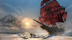 Assassin's Creed Rogue - Cormac's ship, the Morrigan