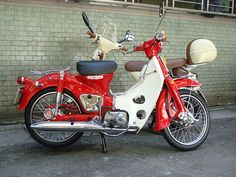Small Motorcycles, Honda Cub, Classic Motors, Mini Bike, Motorcycle Bike, Bobber, Motorbikes, Cubs, Retro