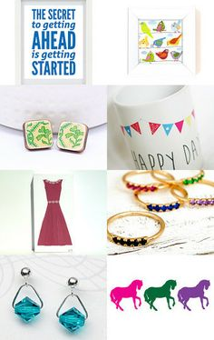 Must Get Started! by Sandra on Etsy--Pinned with TreasuryPin.com