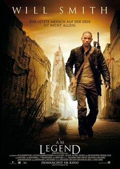 """I am Legend"" poster"
