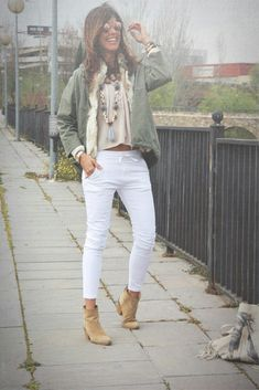 Love the jacket and those pants are awesome! I like the relaxed waistband