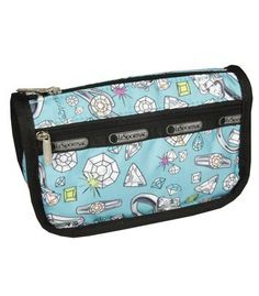 Boxed Travel Cosmetic Case in Bling Print - LESPORTSAC