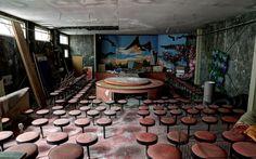 Abandoned strip club in northern Okayama, Japan.