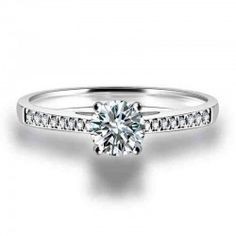 Fashionable Classic Forever Love Crystal Women's Ring - USD $45.95