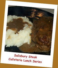 Prepare as directed and pour over salisbury steaks. Place in pre-heated 350 degree oven for 30 minutes. Serve with mashed potatoes and NO ...
