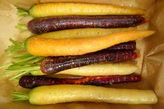 Roasted maple glazed rainbow carrots I Finn´s Foods