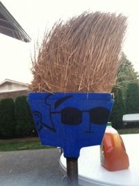 "New style called ""broomie"""