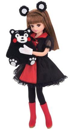 リカちゃん LD-16 くまモン×リカちゃん:Amazon.co.jp:おもちゃ