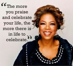Oprah is a smart lady, one way she takes control of her health is by keeping her body clean.