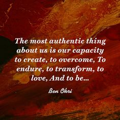 Love Quote About Perseverance   Ben Okri