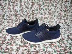 8fab89c59c2a8 Adidas Ultra Boost 3.0 Size 8 Collegiate Navy White Deadstock Footwear  BA8843  fashion  clothing