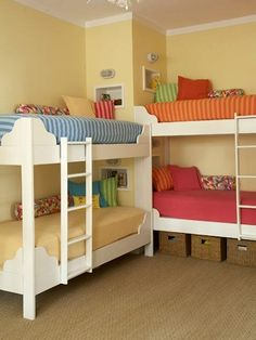 88 Best Kids Bedroom Ideas And Designs Images Bunk Beds Bedroom