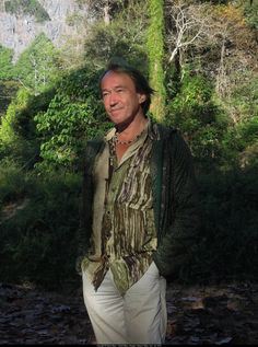 Patrick Blanc is a botanist and the creator of the Vertical Garden (Mur Vegetal)