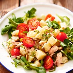 Aardappelsalade zalm