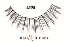 bdb87bbd1df #505 Red Cherry Lashes 100 Human Hair, False Eyelashes, Natural Lashes, Lash