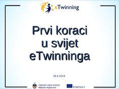 Prvi koraci u svijet eTwinninga by Miljenko Hajdarovic via slideshare