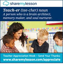 Teacher Appreciation Week - Resources - Share My Lesson