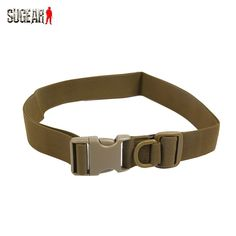 Outdoor Sports Equipment Tactical Waistband Heavy Duty Durable Waist Belt for Bags Military Adjustable Cycling Webbing Belt