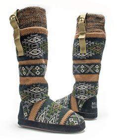 Look what I found on #zulily! Copper Angela Slipper Boot - Women #zulilyfinds