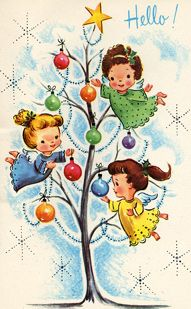 Vintage Christmas postcards and other holidays:
