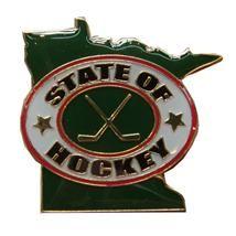 MN Wild State of Hockey pin