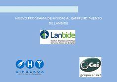 NUEVO PROGRAMA DE AYUDAS AL EMPRENDIMIENTO DE LANBIDE