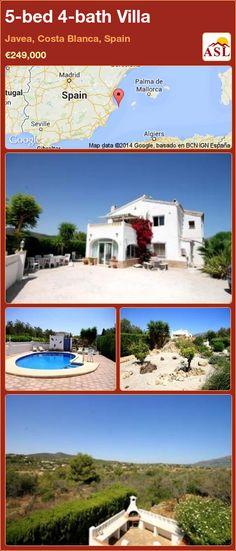 5-bed 4-bath Villa in Javea, Costa Blanca, Spain ►€249,000 #PropertyForSaleInSpain