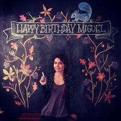 Happy Birthday photo booth by Carolina Ro