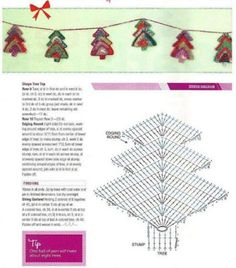Delicadezas en crochet Gabriela: Navidad en ganchillo
