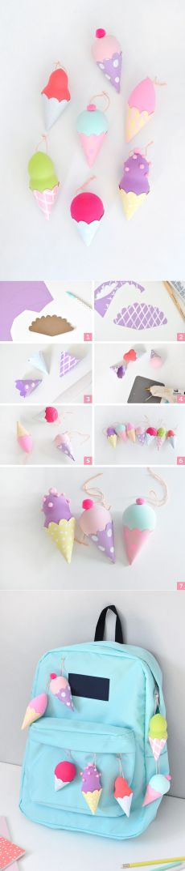 Подвески-мороженки