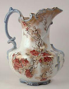 Exceptional Doulton Burslem Art Nouveau Victorian water jug.