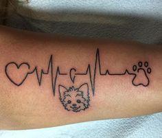 Tatuagens de batimentos cardíacos para demonstrar o seu amor +fotos