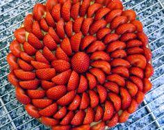 raids pastries: The Strawberry Tart Jacques Genin