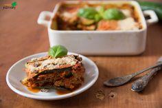 JEDZ ROŚLINY: cukiniowa lasagne z wegańskim sosem bolognese