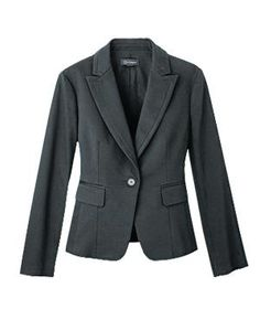 Fitted Jacket | How to find the most flattering clothes for your body type.