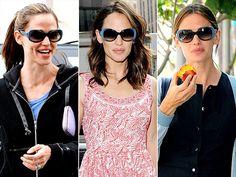 Jennifer Garner in #Cartier #sunglasses