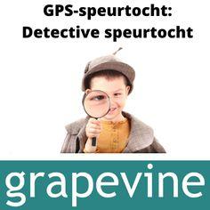 GPS-speurtocht: Detective speurtocht Een coole detective speurtocht met schatkaart en moeilijke speurneusraadsels op je mobiel. De raadsels zijn klaar, maar jij bepaalt de route, via het zelf plaatsen van kaartnaalden. Deze speurtocht is geschikt voor kinderen met verschillende leeftijden. Als de kinderen alleen op pad gaan, dan moeten ze tussen de 8-12 jaar oud zijn. #gps-speurtocht #speurtocht #detective #kinderfeestje #opdrachten #speurtocht #goedkoop #thuis