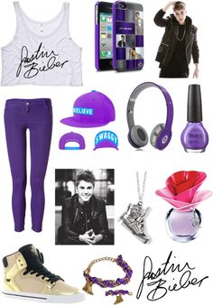 """""""happy birthday justin bieber!"""" by marzpoo ❤ liked on Polyvore"""