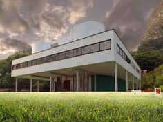 ভিলা স্যাভয় -আধুনিক স্থাপত্যের দিশারী ( Villa Savoye – Le Corbusier ) North And South America, Le Corbusier, World Heritage Sites, Terracotta, Modern Architecture, Interior And Exterior, Evolution, Cool Designs, Buildings