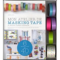 masking tape ! Masking Tape, Washi Tape, Duct Tape, Tapas, Stationery Craft, Fabric Tape, Kit, Stripes, Frame