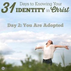 The Bible says we are adopted. What exactly does that mean? As an adoptive mother, I have a few ideas on this.