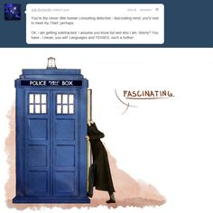 """We're excited for today's return of Doctor Who, but like a big segment of the Internet, we love imagining the Doctor crossing paths with another brilliant BBCer, Sherlock Holmes. To celebrate the return of Who, we've collected some weird and wonderful comics and illustrations that try to answer the question, """"What if Sherlock met the Doctor?"""""""