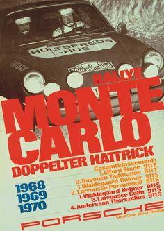 Porsche poster.