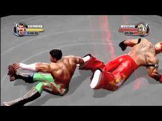 146 WWE All Stars   Cage Attacks Gam